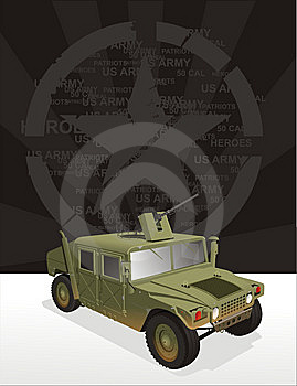 Hummer War Jeep Stock Images - Image: 8725884