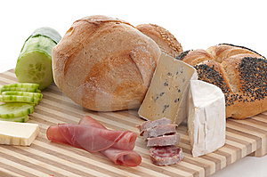 Some Bread And Cheese Stock Images - Image: 8727084