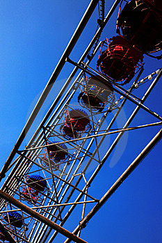 Roue De Ferris Photos stock - Image: 8727263