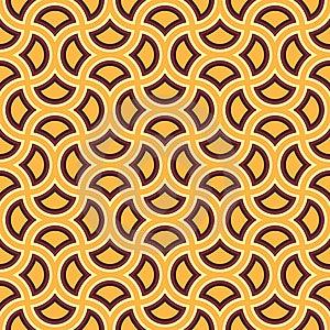 Brown Yellow Pattern Royalty Free Stock Photos - Image: 8728908