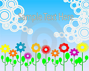 Floral Background Royalty Free Stock Photo - Image: 8729485