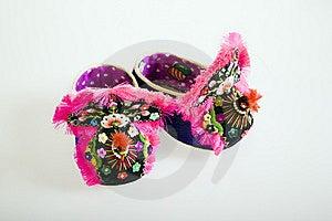 Handmade Cloth Shoes Royalty Free Stock Photos - Image: 8731448