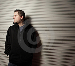Night Criminal Stock Photos - Image: 8731673