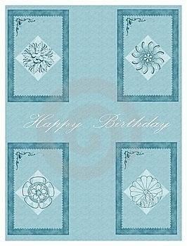 Happy Birthday Cards Royalty Free Stock Image - Image: 8734506