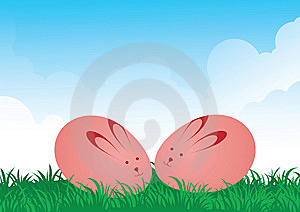 Eggs Are Hare Stock Image - Image: 8734911