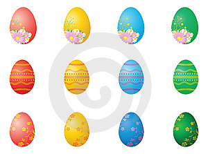 Easter Eggs Stock Photography - Image: 8734912