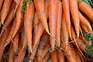 Market Carrots Royalty Free Stock Photos - Image: 8735358