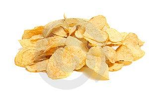 Chips Potatisen Royaltyfri Bild - Bild: 8735956