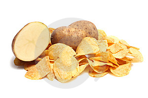 Chips Potato Royalty Free Stock Photography - Image: 8735977