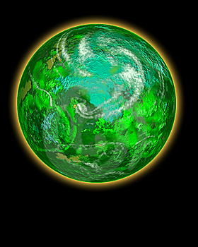 Go Green Planet Stock Photo - Image: 8739000
