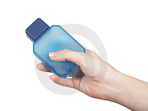 Hand With Perfumery Stock Images - Image: 8739364