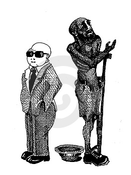 Blind Man Royalty Free Stock Images - Image: 8739439