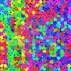 Vibrant Mosaic Pattern Stock Image - Image: 8740221