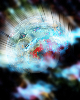 Outer Space Fantasy 5 Stock Photography - Image: 8740252