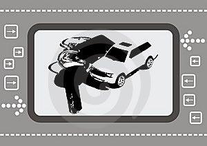 Micro Car Royalty Free Stock Photos - Image: 8740838