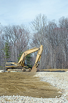 Excavator Royalty Free Stock Image - Image: 8742166