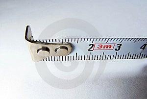 Measure Tape Macro Royalty Free Stock Images - Image: 8744669