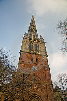 Tower Of A Shropshire Church Royalty Free Stock Images - Image: 8745119