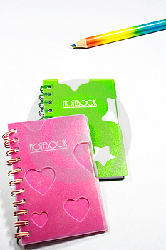 Back To School Notebook And Pencil Royalty Free Stock Photo - Image: 8745975