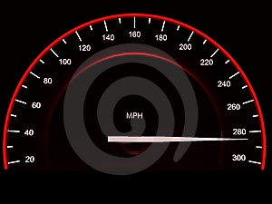 Speedometer. Stock Photo - Image: 8746310