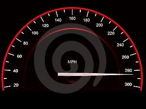 Speedometer. Stock Photo - Image: 8746310