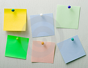 Post It Notes Royalty Free Stock Photos - Image: 8746968