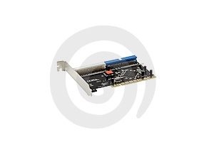 IDE Raid Controller PCI Card Royalty Free Stock Images - Image: 8747509