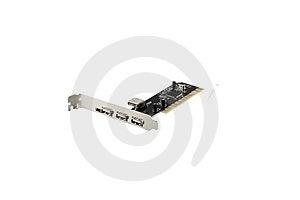 USB And Mini USB PCI Card Stock Photo - Image: 8747510