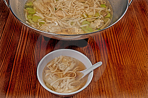 Wonton Soup Royalty Free Stock Photography - Image: 8749677