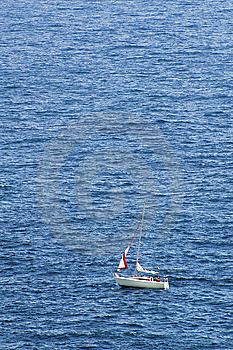 Lonely Boat Stock Images - Image: 8749684