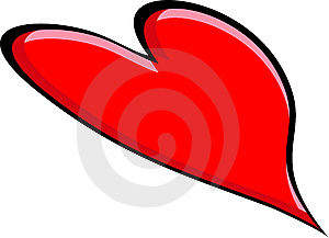 Big Red Heart Royalty Free Stock Photos - Image: 8750398