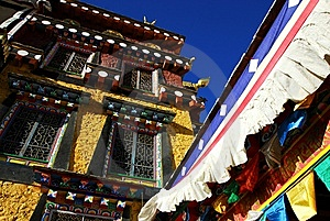 Tibetan Architecture-temples Stock Images - Image: 8750934