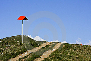 The Top Of The Mountain Stock Images - Image: 8751434