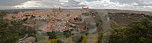 Panorama Of The Toledo, Spain Stock Photo - Image: 8752190