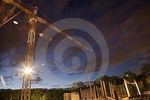 Night Building Stock Photo - Image: 8753740
