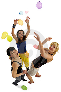 Balloon Fun Stock Photo - Image: 8756460
