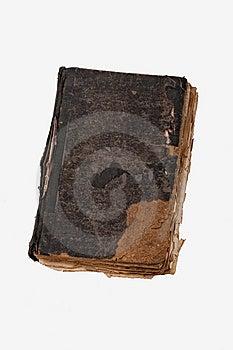 Libro Antico Su Bianco Fotografia Stock Libera da Diritti - Immagine: 8756967