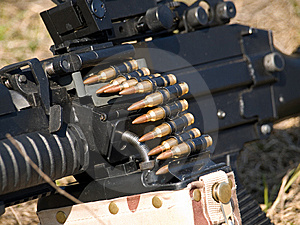 Machine Gun Royalty Free Stock Photos - Image: 8757428