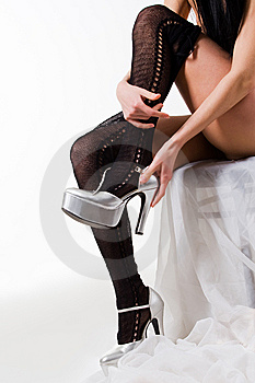 Shoes And Stockings Stock Photography - Image: 8757762