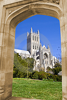 Cathedral(Washington National) Royalty Free Stock Photo - Image: 8758135