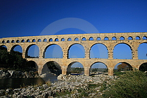 Pont Du Gard Royalty Free Stock Images - Image: 8758169