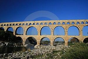 Pont Du Gard Royalty Free Stock Images - Image: 8758169