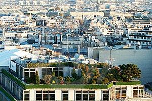 Paris Aerial Royalty Free Stock Photos - Image: 8759848