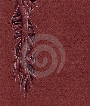 Tree Sketch Stock Image - Image: 8764931