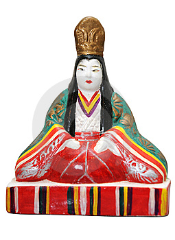 Japanese Doll Royalty Free Stock Images - Image: 8765439