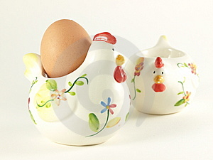 Easter Traditional Chicken With Egg. Royalty Free Stock Photo - Image: 8767255