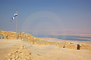 Dead Sea And Masada Ruins Stock Images - Image: 8767844
