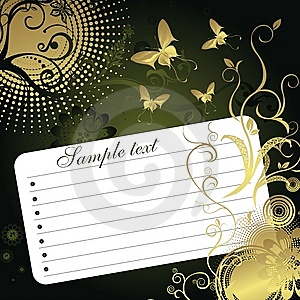 Sheet For Notes Royalty Free Stock Photo - Image: 8768465