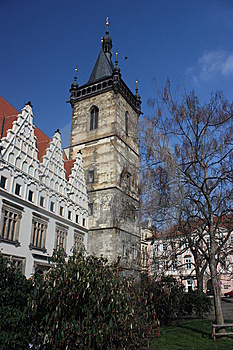 New Town Hall In Prague Stock Photo - Image: 8780550