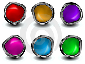 Buttons Stock Photos - Image: 8781533